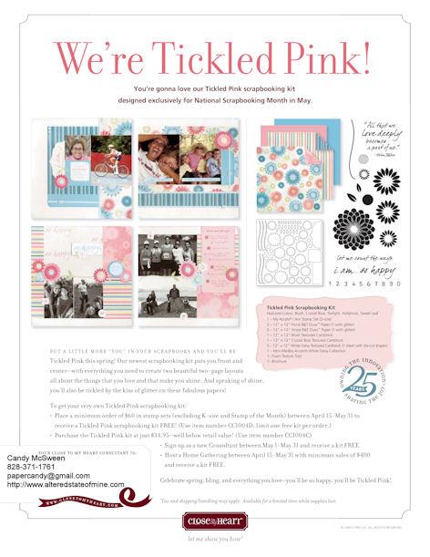 Tickled Pink Flyer