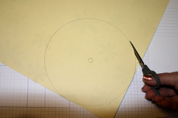 Cutting New Clock Face