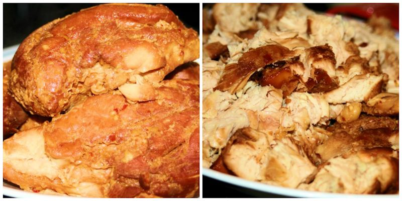 Shredded Chicken for Marinated Chinese Chicken Salad