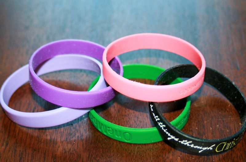 Rubber Wrist Bands