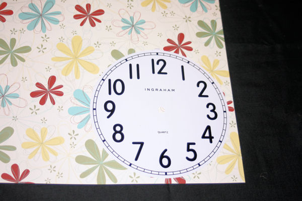 Tracing Clock Face